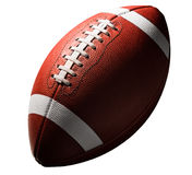 American College High School Football on White Royalty Free Stock Photo