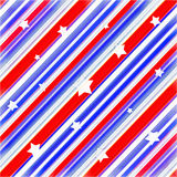 American Colors Stars Background Stock Photo