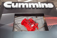 American Company Cummins à l'IAA 2016 Photos stock