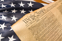 American Constitution - We the people Stock Photography
