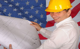 American Construction Worker stock images