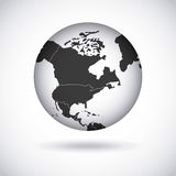 american continent  design Royalty Free Stock Photography