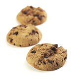 American Cookie With Selective Focus Royalty Free Stock Images