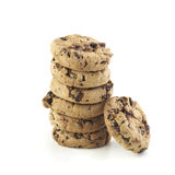 American Cookie Stack Royalty Free Stock Images