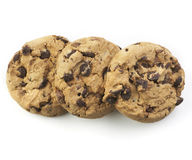 American Cookie in Top View Royalty Free Stock Image