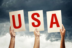 American country code Stock Photography