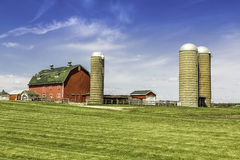American country farm Royalty Free Stock Images