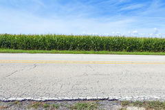 American Country Road Royalty Free Stock Photography