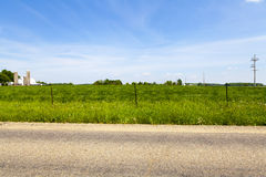 American Country Road Stock Photo