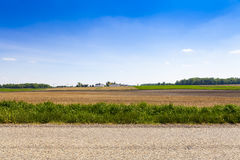 American Country Road Stock Photography
