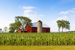 American Countryside Stock Photo
