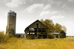 American Countryside - Vintage Design Royalty Free Stock Photography