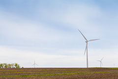 American Countryside Wind farm Royalty Free Stock Images
