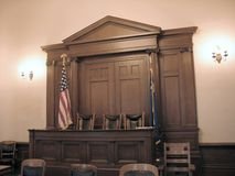 American court Stock Photo