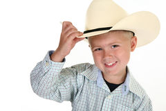 American Cowboy royalty free stock image