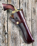 American Cowboy Pistol. Royalty Free Stock Images