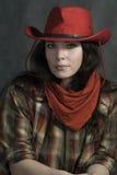 American cowgirl Stock Photos