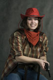 American cowgirl Royalty Free Stock Images