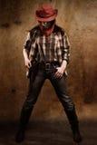 American cowgirl Stock Photo