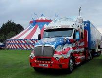 American cruiser circus. Royalty Free Stock Images