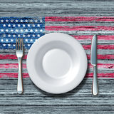 American Cuisine Royalty Free Stock Images