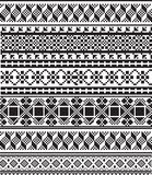 American culture pattern Royalty Free Stock Images