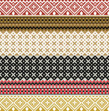 American culture pattern Stock Photo