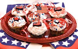 American Cupcakes Royalty Free Stock Photography