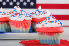 American Cupcakes Stock Photos