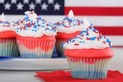 American Cupcakes Stock Photos