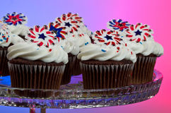 American Cupcakes Stock Images