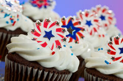 American Cupcakes Royalty Free Stock Photo