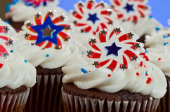 American Cupcakes Royalty Free Stock Image