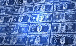 American Currency. Abstract Background image of American Currency Stock Photo