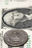 American currency concept Royalty Free Stock Photos