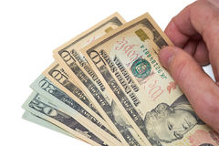 American Currency Royalty Free Stock Image