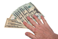 American Currency Royalty Free Stock Photos