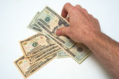 American Currency Royalty Free Stock Images