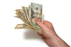 American Currency. American Dollars Royalty Free Stock Images