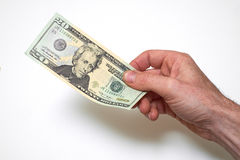 American Currency. American Dollars Stock Photo