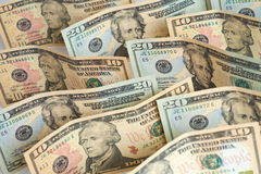 American Currency. American Dollars Royalty Free Stock Photos