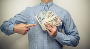 American currency Stock Images