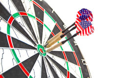 American darts Royalty Free Stock Image