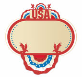 American decoration frame Royalty Free Stock Image