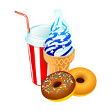 American dessert Royalty Free Stock Images