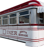American Diner Isolated Stock Photography