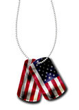 American Dog Tag Royalty Free Stock Images