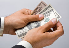 American dollar Stock Photography