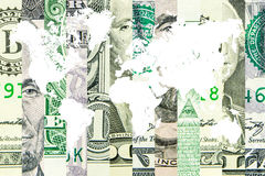 American dollar as the world reserve currency Stock Photo