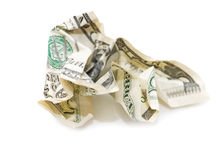 American dollar banknote Royalty Free Stock Images